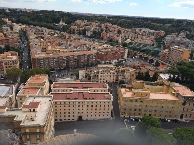 Βασιλική του SAN Pietro στην πόλη Βατικάνου στη Ρώμη στοκ φωτογραφίες με δικαίωμα ελεύθερης χρήσης