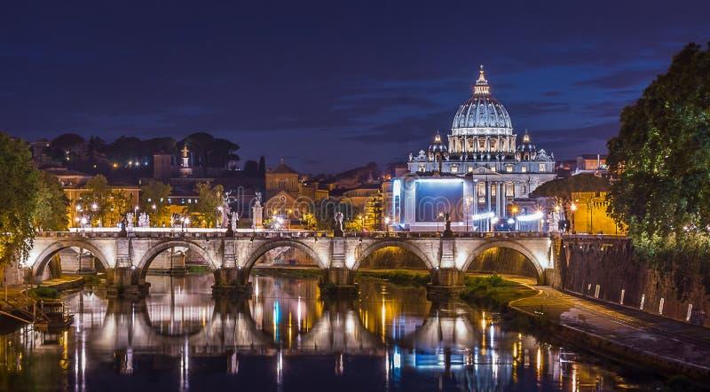 Βασιλική του ST Peter ` s, Βατικανό στοκ φωτογραφίες
