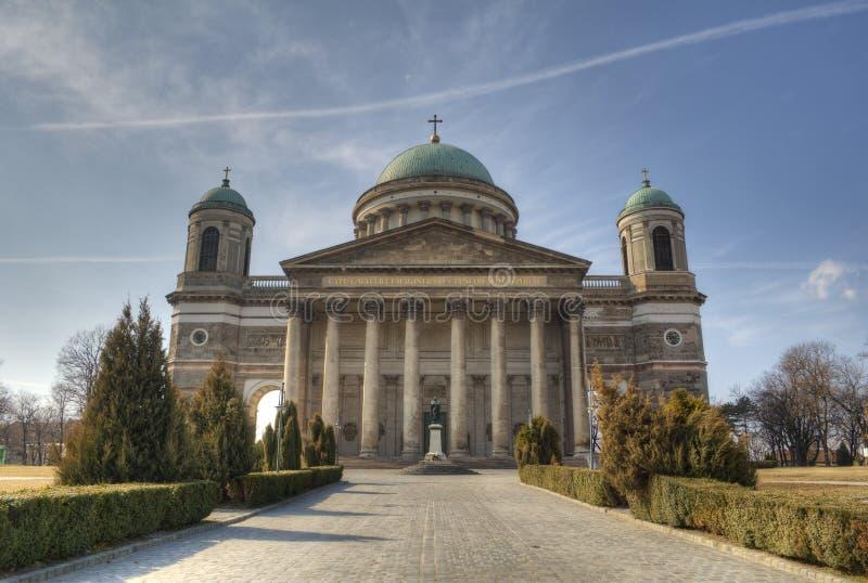 βασιλική esztergom Ουγγαρία στοκ εικόνες με δικαίωμα ελεύθερης χρήσης