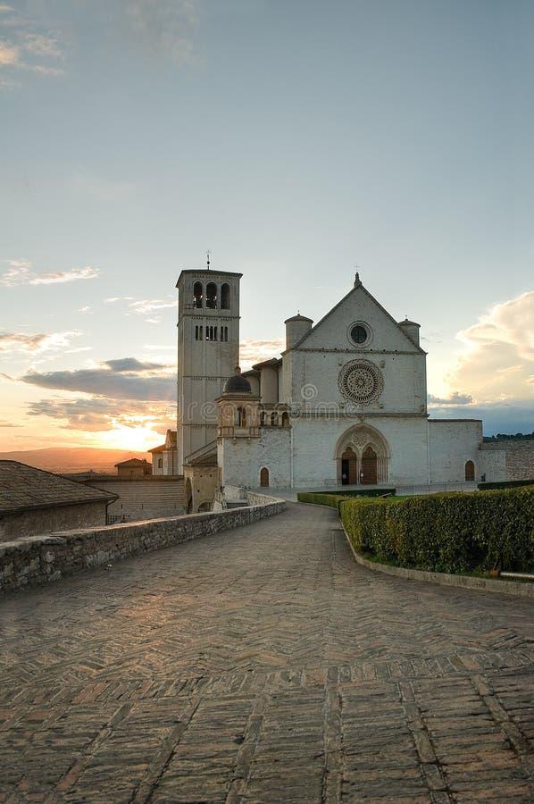 Download βασιλική Francesco ST Ουμβρία Assisi Στοκ Εικόνα - εικόνα από ιστορικός, ιταλία: 17055781
