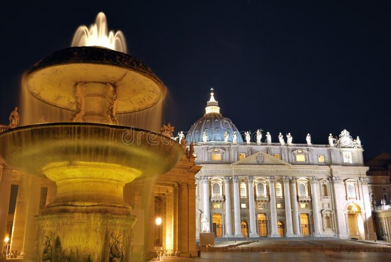 βασιλική Peter s ST Βατικανό στοκ εικόνες με δικαίωμα ελεύθερης χρήσης