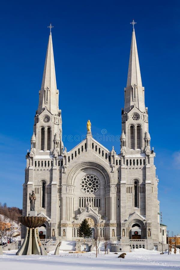 Βασιλική sainte-Anne-de-Beaupré στοκ φωτογραφία