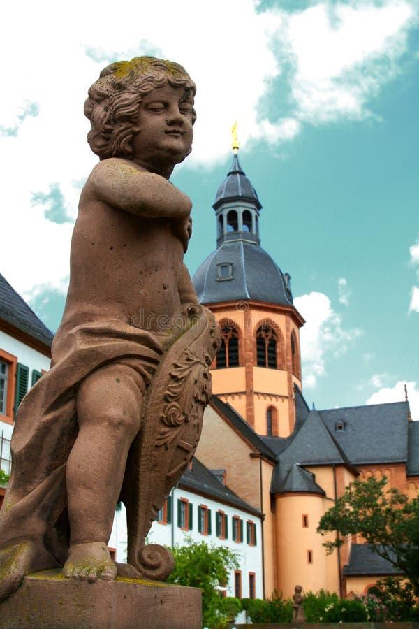 βασιλική seligenstadt στοκ εικόνες