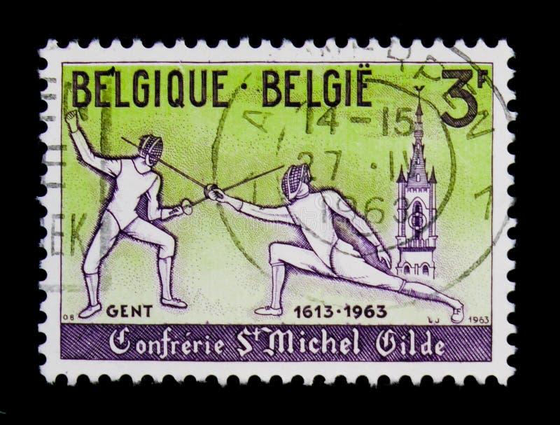 Βασιλικοί συντεχνία και ιππότες του ST Michael, serie, circa 1963 στοκ φωτογραφία με δικαίωμα ελεύθερης χρήσης