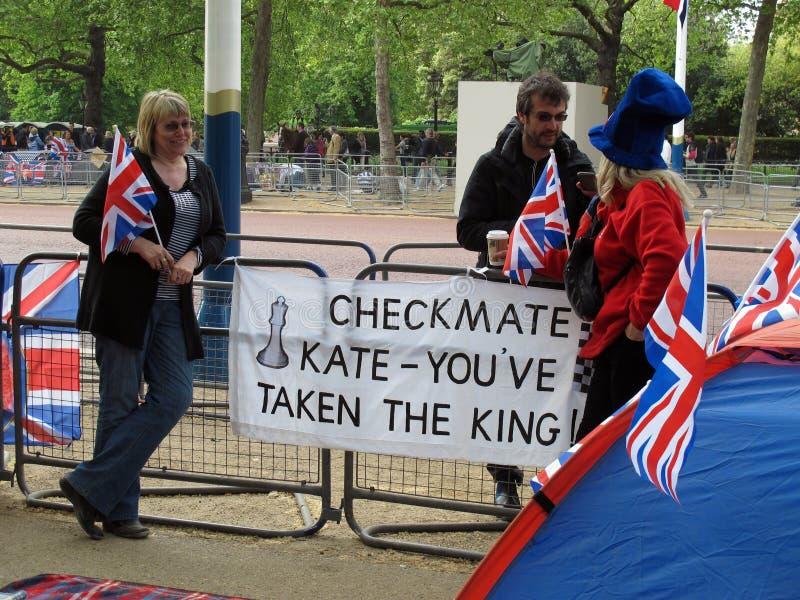 βασιλικός γάμος του 2011 στοκ φωτογραφία με δικαίωμα ελεύθερης χρήσης