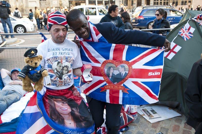 βασιλικός γάμος 2011 τροχόσπ&i στοκ εικόνα με δικαίωμα ελεύθερης χρήσης