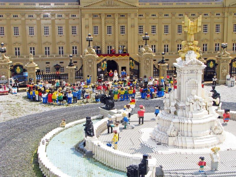 βασιλικός γάμος lego στοκ εικόνες