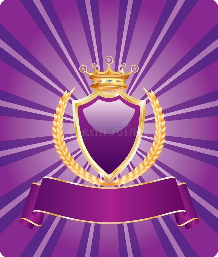 βασιλικός ιώδης σίτος διανυσματική απεικόνιση