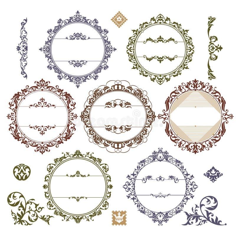 βασιλικός καθορισμένο&sigmaf απεικόνιση αποθεμάτων
