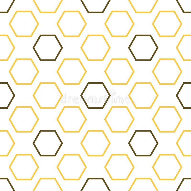 Βασιλικό άνευ ραφής σχέδιο μελισσών ελεύθερη απεικόνιση δικαιώματος