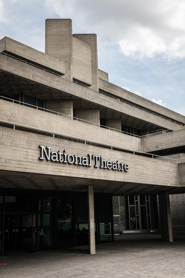 Βασιλικό Εθνικό Θέατρο στο Λονδίνο στοκ εικόνα
