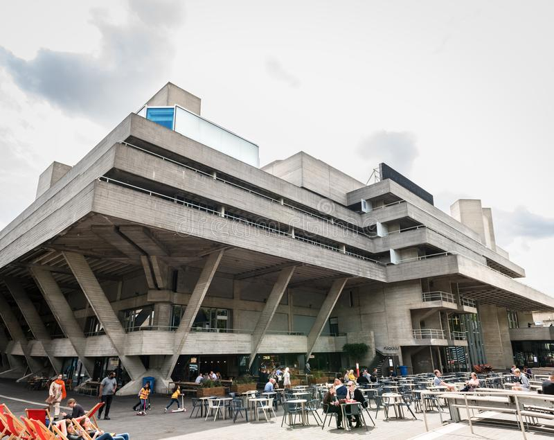 Βασιλικό Εθνικό Θέατρο στο Λονδίνο στοκ φωτογραφία με δικαίωμα ελεύθερης χρήσης