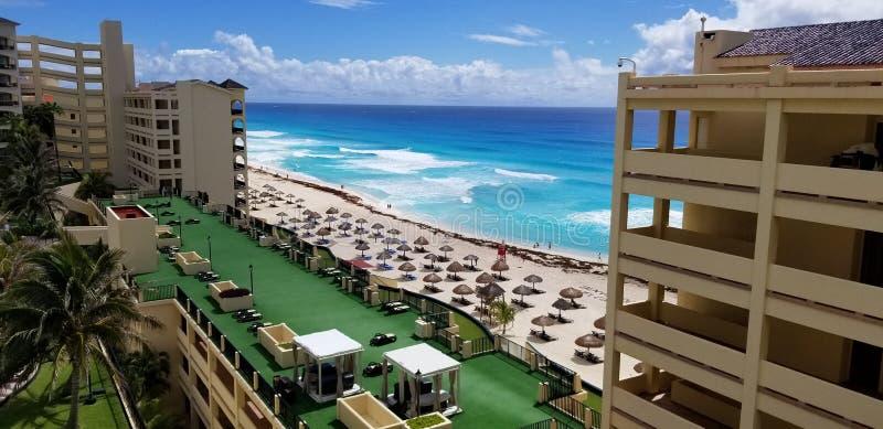 Βασιλικό καραϊβικό θέρετρο, Cancun στοκ φωτογραφία με δικαίωμα ελεύθερης χρήσης