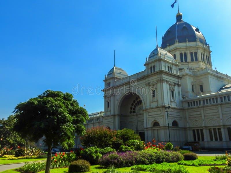 Βασιλικό κτήριο έκθεσης, Carlton, Βικτώρια, Αυστραλία στοκ εικόνες