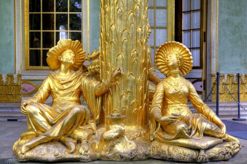 Βασιλικό πάρκο Sanssouci στο Πότσνταμ στοκ εικόνα με δικαίωμα ελεύθερης χρήσης