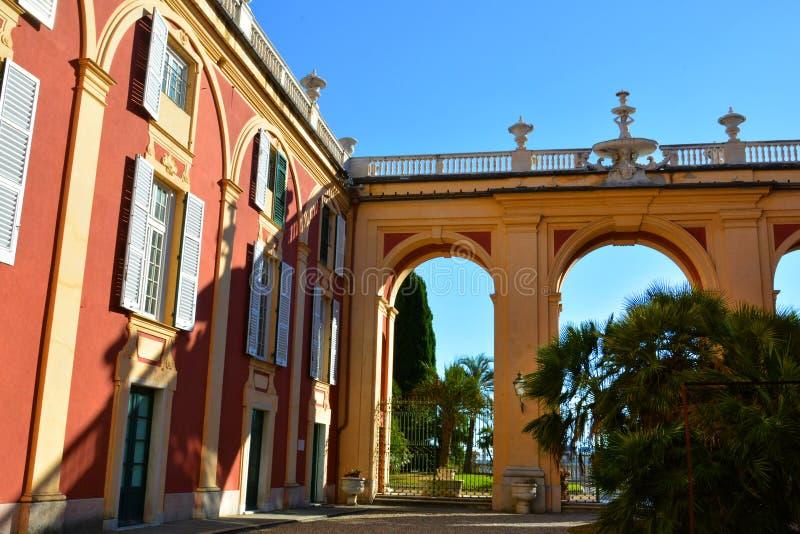 Βασιλικό παλάτι Palazzo reale της Γένοβας, Γένοβα, Ιταλία στοκ φωτογραφία με δικαίωμα ελεύθερης χρήσης