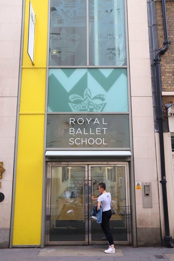Βασιλικό σχολείο μπαλέτου στοκ φωτογραφία