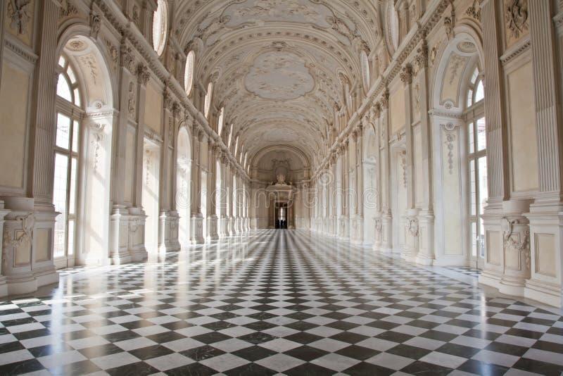 βασιλικό venaria παλατιών της Ιτ στοκ φωτογραφίες