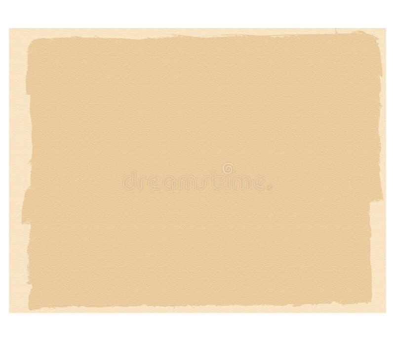 Βασισμένη στο πλαίσιο φωτογραφία πορτών και ζωγραφική, για να υπογράψει, αντίκα, που ραγίζεται, μπεζ απεικόνιση αποθεμάτων