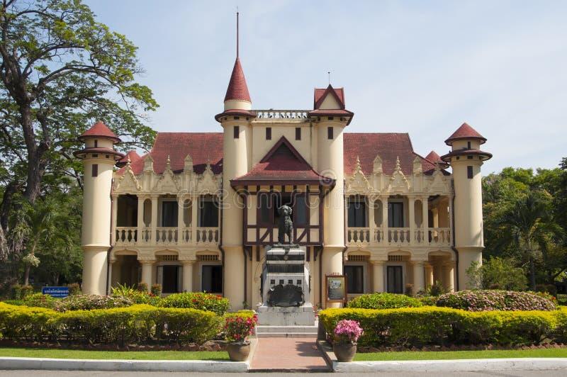 Βασιλιάς Rama IV μεγάλο παλάτι, Ταϊλάνδη στοκ εικόνα με δικαίωμα ελεύθερης χρήσης