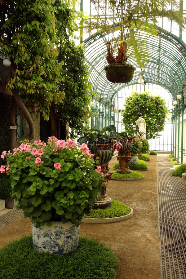 Βασιλικά θερμοκήπια Laeken στοκ εικόνα με δικαίωμα ελεύθερης χρήσης