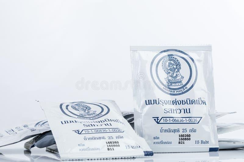 Βασιλικές ταμπλέτες γάλακτος της Ταϊλάνδης στοκ φωτογραφία με δικαίωμα ελεύθερης χρήσης