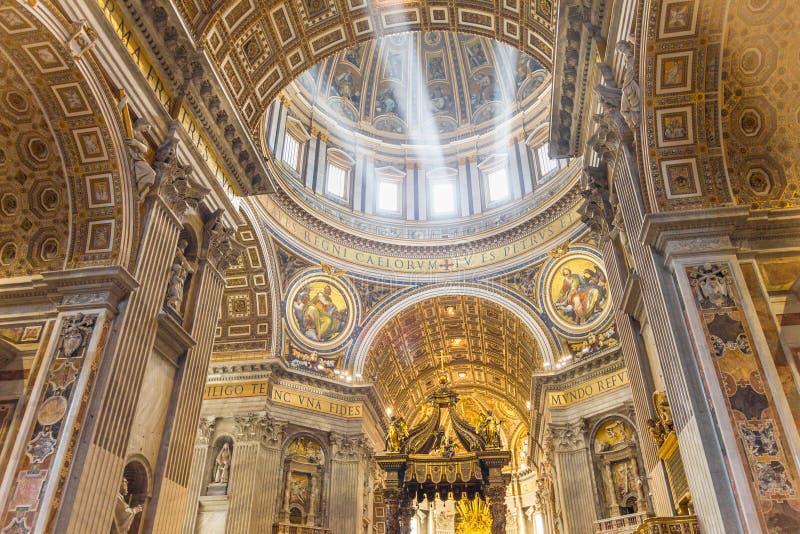 Βασιλική Αγίου Peter, πόλη του Βατικανού στοκ φωτογραφίες με δικαίωμα ελεύθερης χρήσης