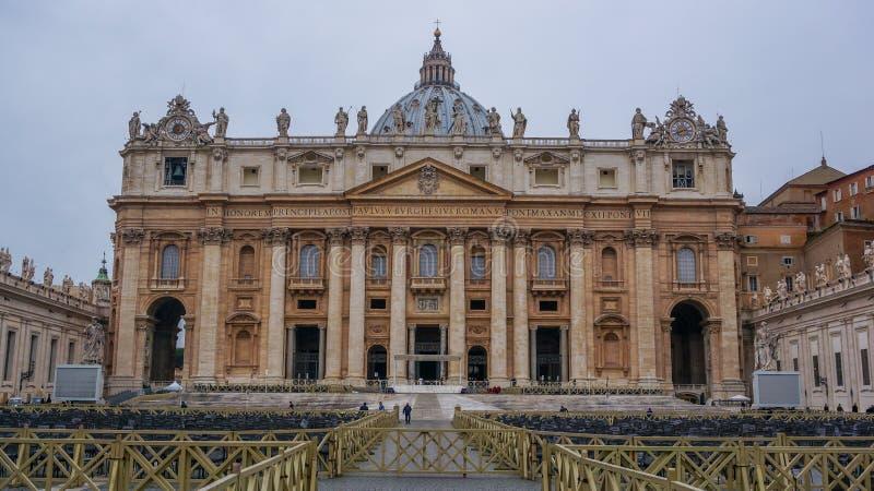 Βασιλική Αγίου Peter στοκ εικόνες με δικαίωμα ελεύθερης χρήσης