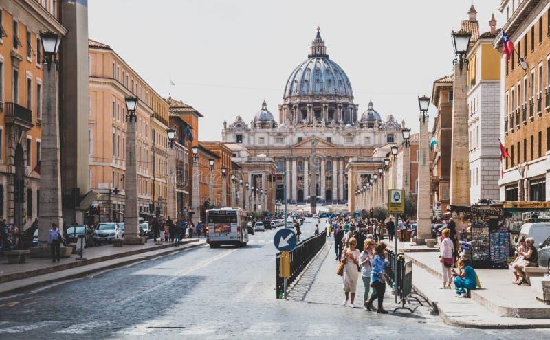 Βασιλική Αγίου Peter ` s στοκ εικόνα με δικαίωμα ελεύθερης χρήσης