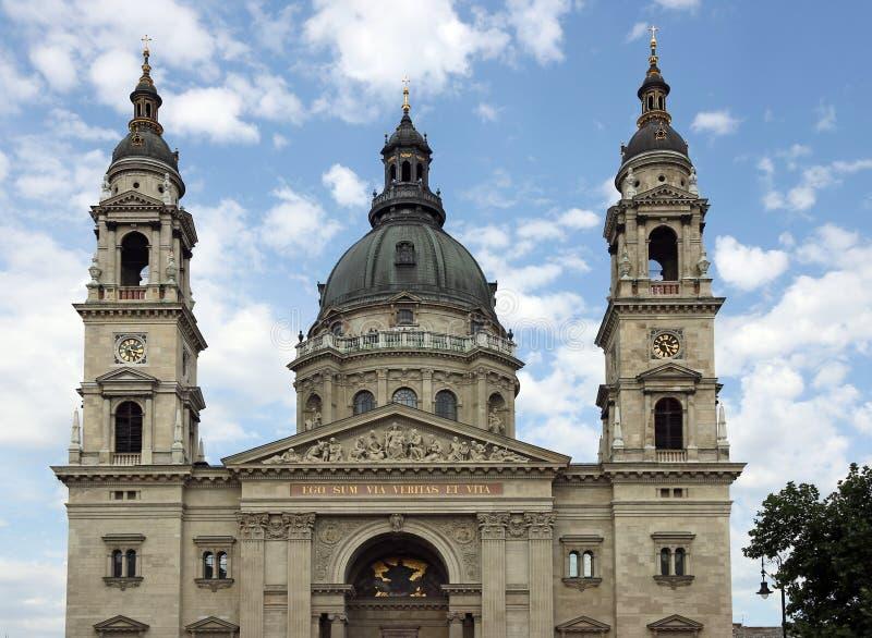 Βασιλική Βουδαπέστη Ουγγαρία Αγίου Stephen στοκ φωτογραφία με δικαίωμα ελεύθερης χρήσης