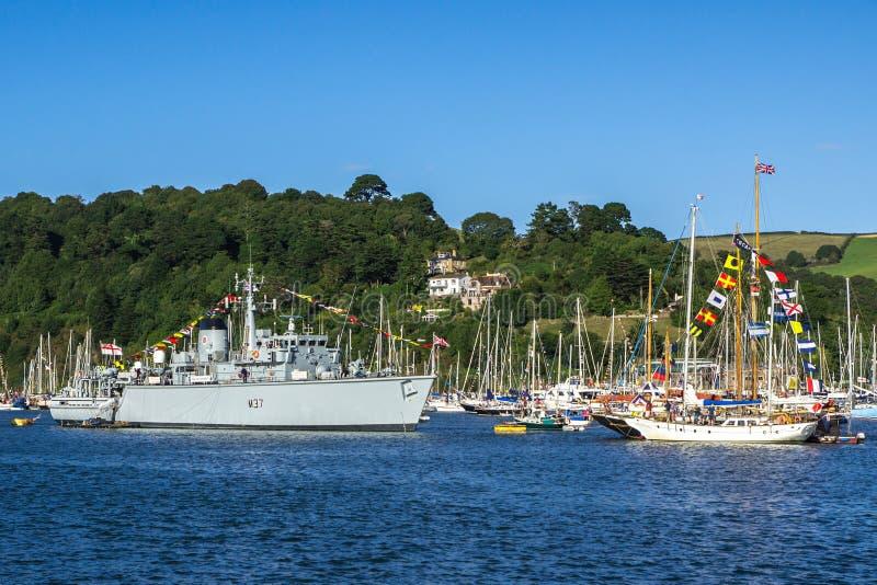 Βασιλική ναυαρχίδα Regatta Dartmouth στοκ φωτογραφία
