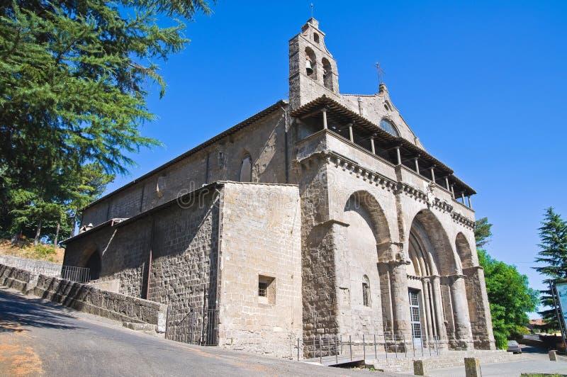 Βασιλική του ST Flaviano. Montefiascone. Λάτσιο. Ιταλία. στοκ εικόνες με δικαίωμα ελεύθερης χρήσης