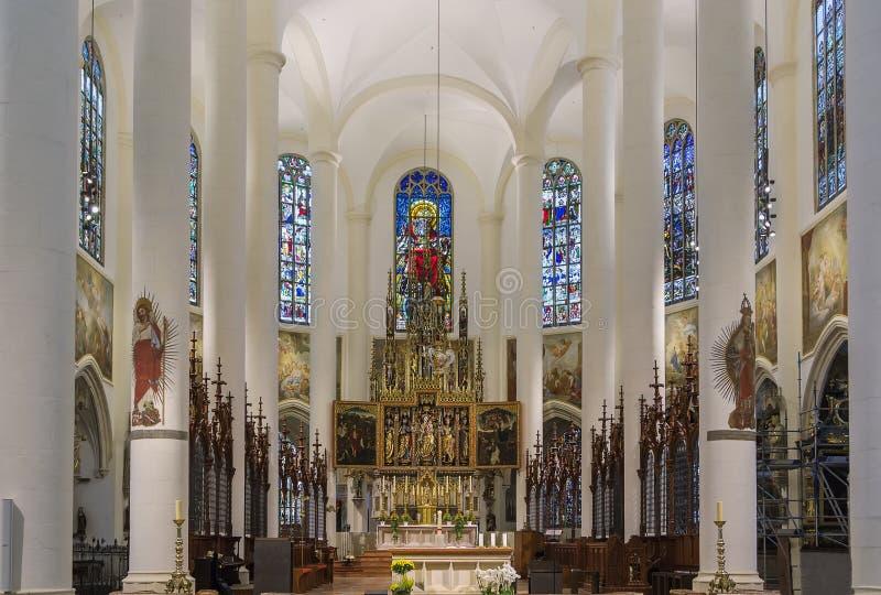 Βασιλική του ST Jacob, Straubing, Γερμανία στοκ φωτογραφίες με δικαίωμα ελεύθερης χρήσης