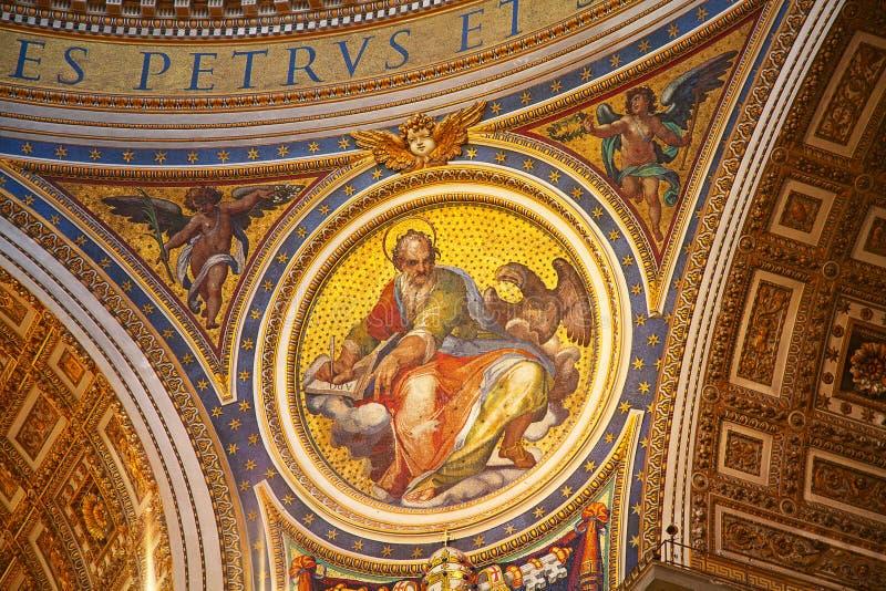 Βασιλική του ST Peter στοκ φωτογραφία με δικαίωμα ελεύθερης χρήσης