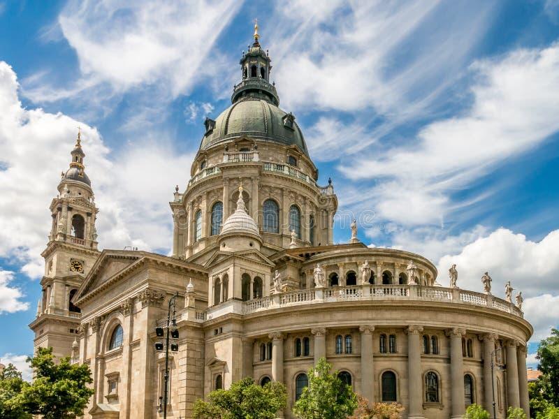 Βασιλική του ST Stephen, Βουδαπέστη στοκ εικόνες με δικαίωμα ελεύθερης χρήσης