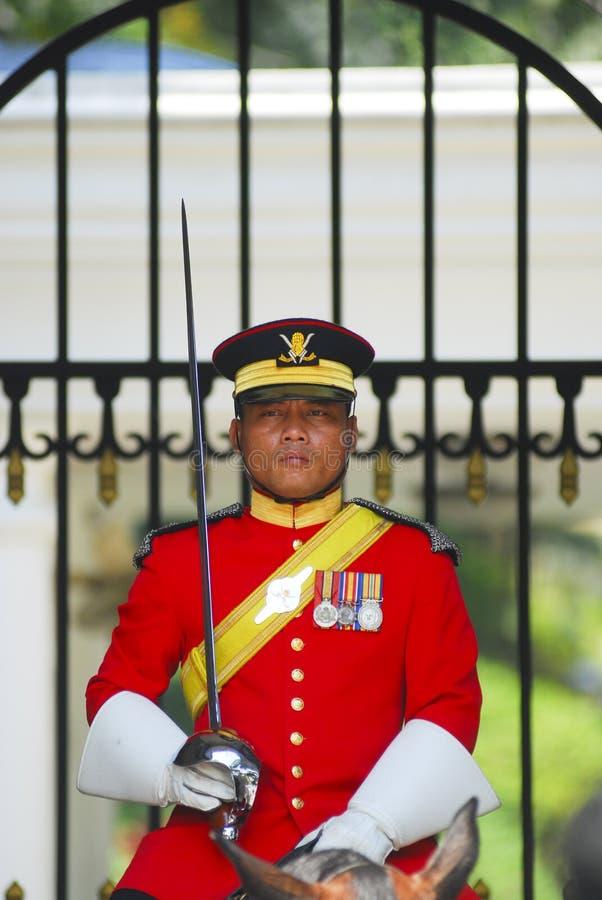 Βασιλική φρουρά στοκ φωτογραφία