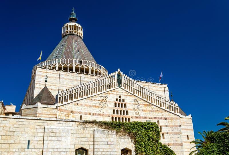 Βασιλική Annunciation, ένας Ρωμαίος - καθολική εκκλησία στη Ναζαρέτ στοκ φωτογραφίες με δικαίωμα ελεύθερης χρήσης