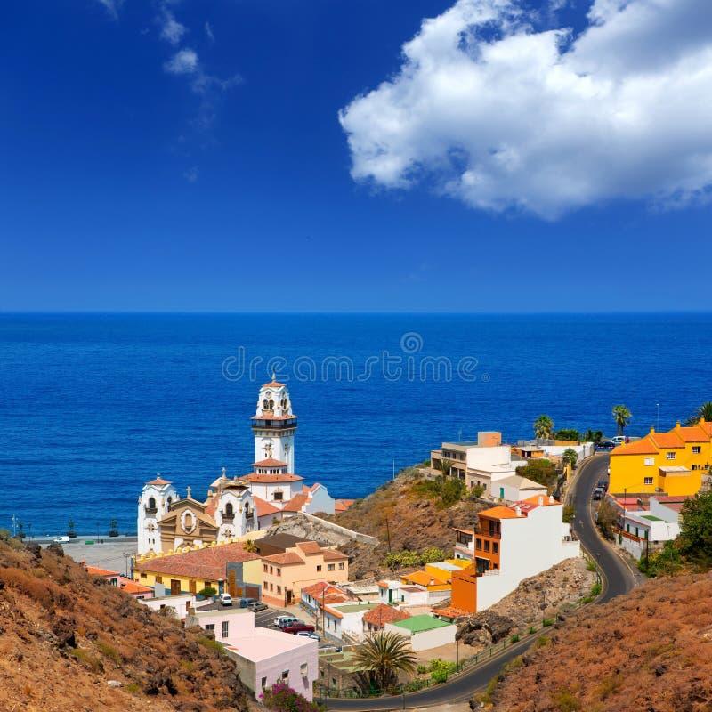 Βασιλική de Candelaria Tenerife στα Κανάρια νησιά στοκ φωτογραφία