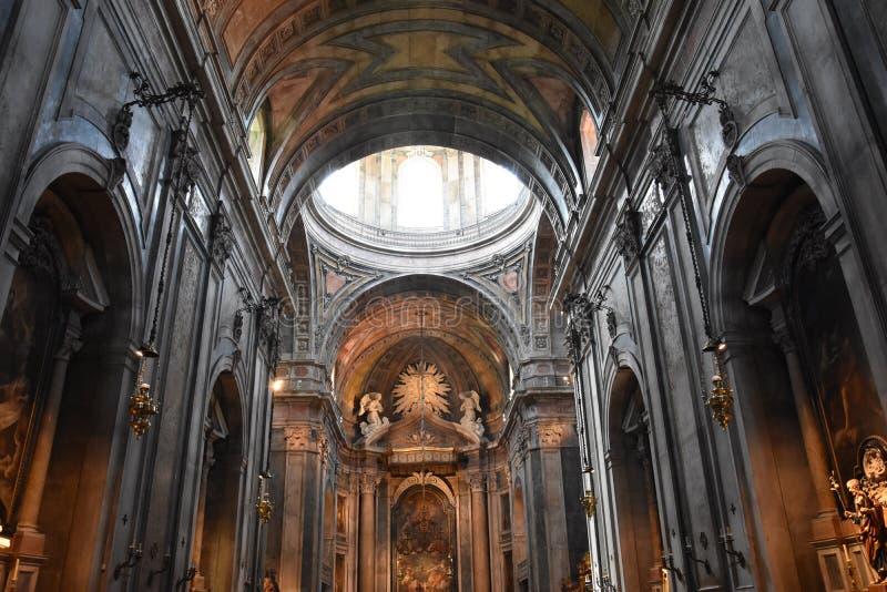 Βασιλική Estrela στη Λισσαβώνα, Πορτογαλία στοκ εικόνες