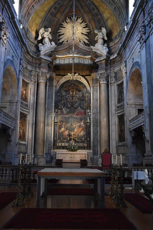 Βασιλική Estrela στη Λισσαβώνα, Πορτογαλία στοκ φωτογραφία