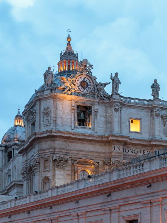 Βασιλική ST Peter στοκ φωτογραφίες με δικαίωμα ελεύθερης χρήσης