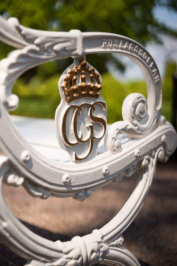 Βασιλικός πάγκος σε Solliden, Σουηδία στοκ εικόνα με δικαίωμα ελεύθερης χρήσης
