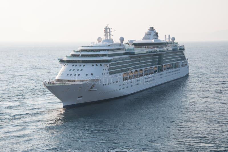 Βασιλικό καραϊβικό σκάφος στοκ εικόνες με δικαίωμα ελεύθερης χρήσης