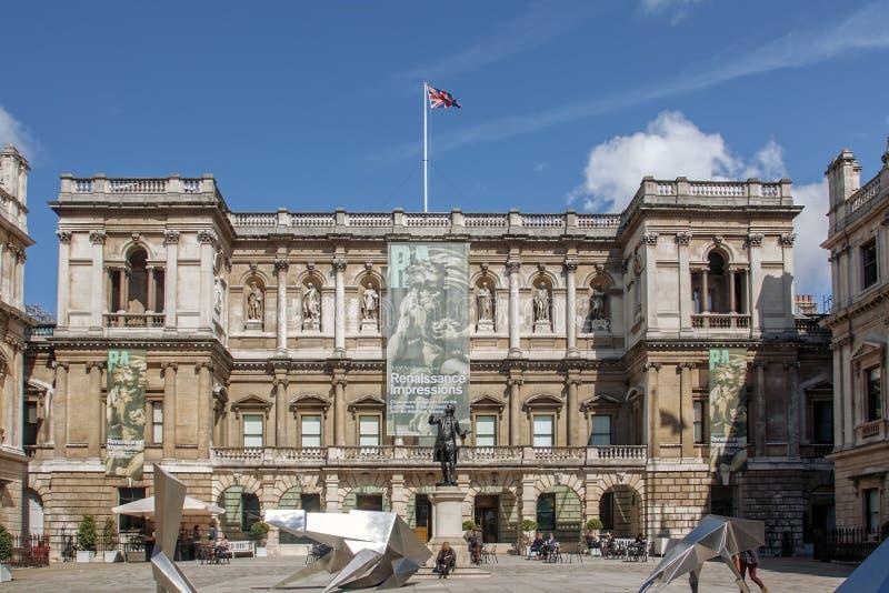 Βασιλικό κολλέγιο τέχνης στο Λονδίνο στοκ εικόνες