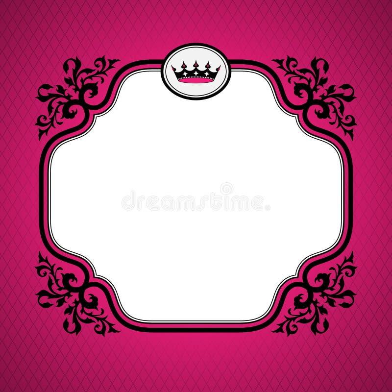 Βασιλικό πλαίσιο απεικόνιση αποθεμάτων