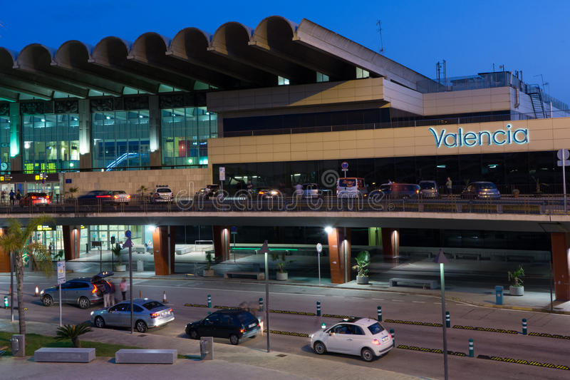 Βαλένθια, αερολιμένας της Ισπανίας στοκ εικόνα με δικαίωμα ελεύθερης χρήσης