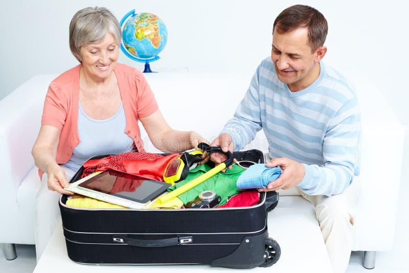 Βαλίτσα συσκευασίας στοκ εικόνες
