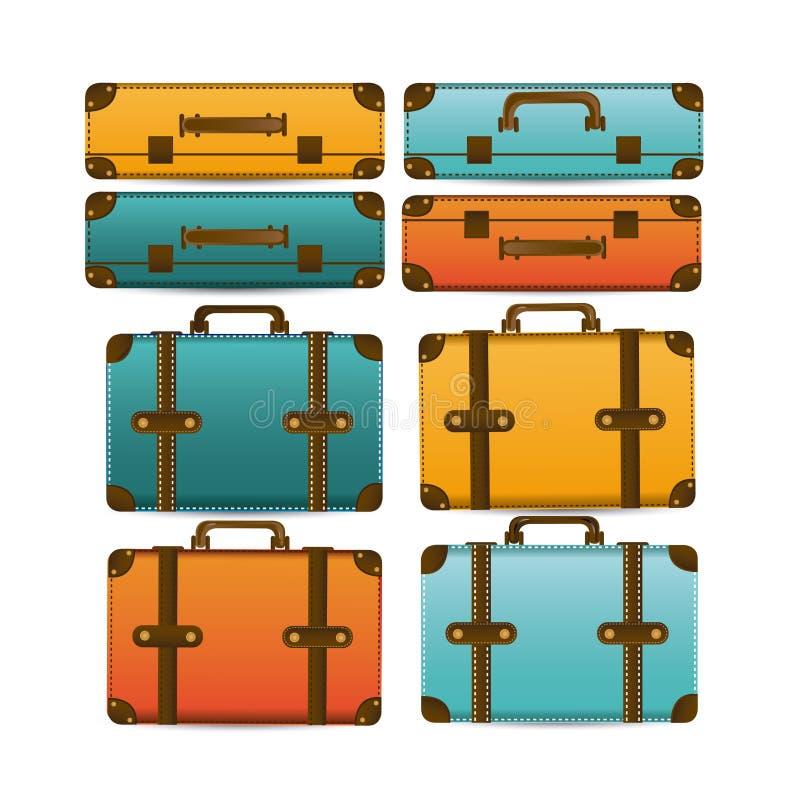 Βαλίτσες ταξιδιού απεικόνιση αποθεμάτων