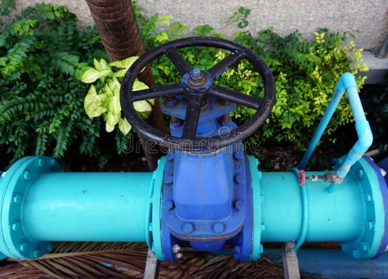 Βαλβίδα της σωλήνωσης νερού στοκ εικόνες