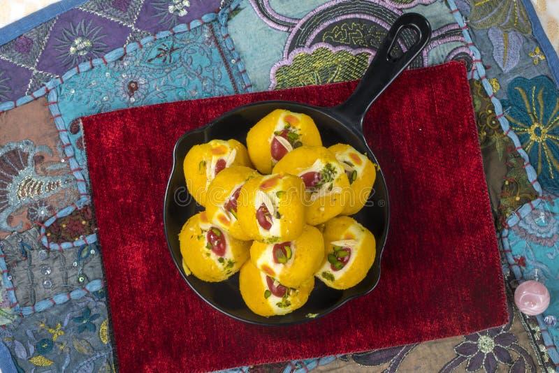 Βεγγαλικά γλυκά τρόφιμα στοκ φωτογραφίες με δικαίωμα ελεύθερης χρήσης